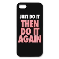 Custombox Just Do It Iphone 5 Case Plastic Hard Phone case-IPhone 5-DF00614