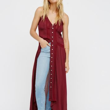 Free People Kimmi Maxi Slip Dress