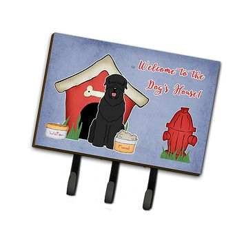 Dog House Collection Black Russian Terrier Leash or Key Holder BB2780TH68