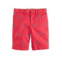 crewcuts Boys Stanton Short With Embroidered Lobsters