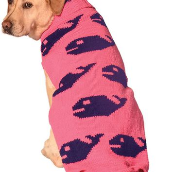 Pink Whales Sweater