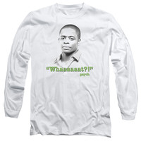 PSYCH/WHAAAAAAT?! - L/S ADULT 18/1 - WHITE -
