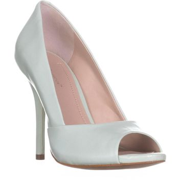 BCBGeneration Izzie2 Peep Toe Pumps, Julep, 10 US / 40 EU