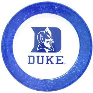 Duke Blue Devils 4 Piece Dinner Plate Set