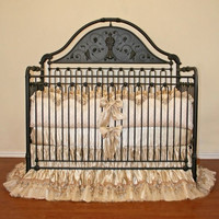 Golden Angel Baby Bedding
