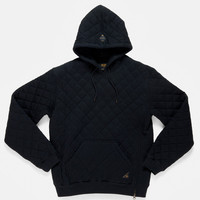 10Deep | Tops | X-Box Quilted Hoodie - Black