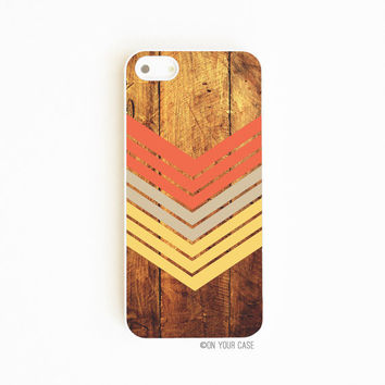 iPhone 5 Case iPhone 5S Cases Dark Wood by onyourcasestore on Etsy