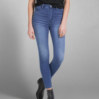 A&F Cara High Rise Ankle Jean Leggings