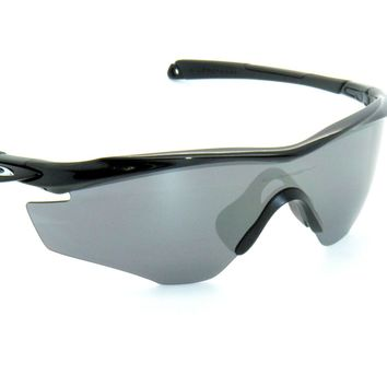 OAKLEY M2 FRAME M-2 9212-01 Polished Black /bk Iridium SUNGLASSES