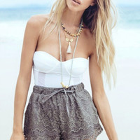 Beach Summer Lace Hot Sale Shorts