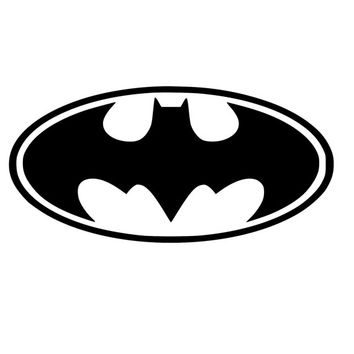 Batman Wall Decal Personalized with Name