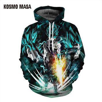 3d Print Full Dragon Ball Hoodie Sweatshirt For Men Women Spring Autumn Loose Thin Hooded Jackets Hoodies