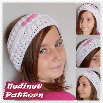 Crochet pattern, Crochet Headband pattern, Ear Warmer pattern, Toddler, Child, Teen, Adult headband pattern, Woman headband PATTERN