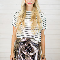 Jasmine Sequin Skirt