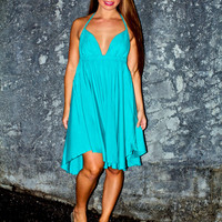 Tiare Hawaii Montevideo Dress Jade