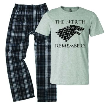 The North Remembers GoT Pajamas