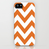 LONGHORN CHEVRON iPhone Case by nataliesales | Society6