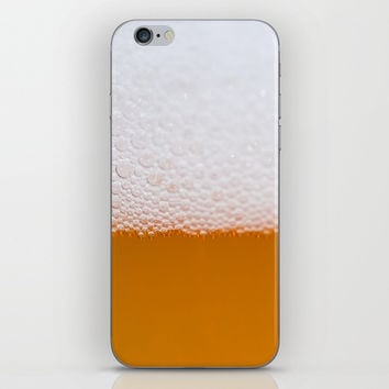 Beer foam iPhone & iPod Skin by ARTPICS