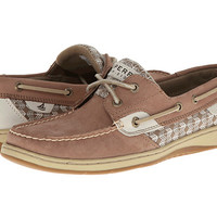 Sperry Top-Sider Bluefish 2-Eye Linen/Blue Floral (Sequins) - Zappos.com Free Shipping BOTH Ways