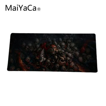 WAR hammer Skulls Notbook computer mouse pad gaming mouse mats to mouse gamer XL 900MM