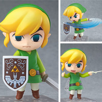 New Limited Edition Nintendo 3DS The Legend Of Zelda Link Figure Collectible Model