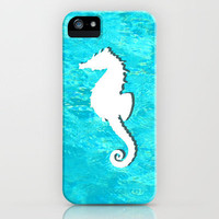 Seahorse iPhone Case by JT Digital Art  | Society6