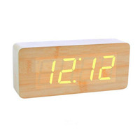 Oblong LED Alarm Clock For The Simple Life by Julyjoy