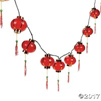 Chinese Lantern String Lights