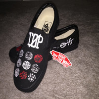 Custom Blurryface Twenty One Pilots Shoes