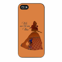 Belle Quote Beauty The Beast Disney iPhone 5s Case