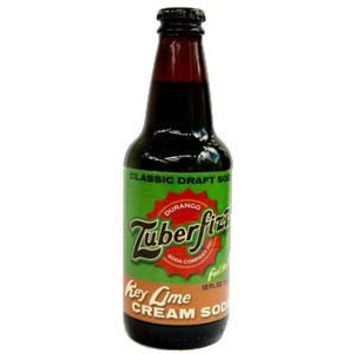 Zuberfizz Key Lime Cream Soda