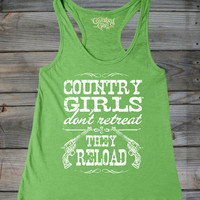 Women's Country Girls™ Reload Flowy Racerback Tank