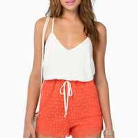 Warming Up Romper $33