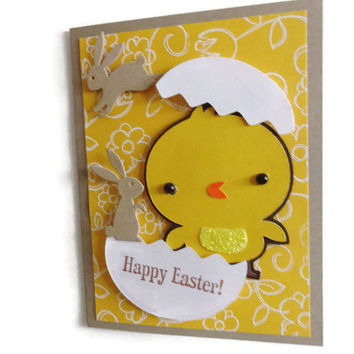 Chick Easter Card Childrens Easter Card