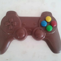 Valentine's Day - Playstation Style Chocolate Remote with Candy Buttons - Playstation Valentine - Gamer Valentine