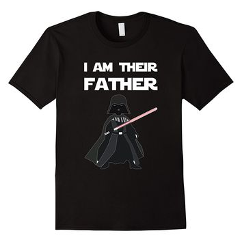 Mens I Am Their Father T Shirt, Fathers Day Shirt