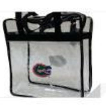 DCCKG8Q NCAA Florida Gators Clear Messenger Basic Tote Bag