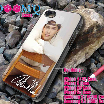 Austin Mahone with Signature iPhone case, iPhone 4/4S, 5, 5S, 5C Case, Samsung S3, S4 Case By Doomqcases for Accessories beautiful