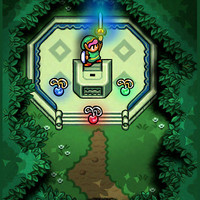 Zelda Link to the Past Master Sword