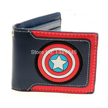 Marvel Comics Captain America Bi-Fold WALLET