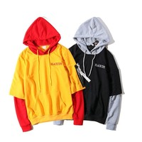Alphabet Hats Hoodies Men's Fashion Jacket [390691127332]