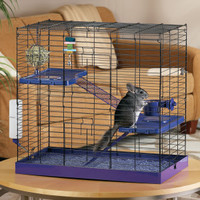 Chinchilla Cage » All Living Things® Deluxe Chinchilla Kit | PetSmart