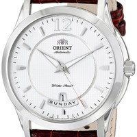 Orient Men's FEV0M003W0 Lexington Analog Display Japanese Automatic Brown Watch