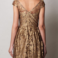 Gold lace dress | Issa | MATCHESFASHION.COM