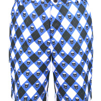 Blue Monster ProCool Golf Shorts (Blue/Black/White)