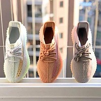 Free shipping-Adidas Yeezy Boost 350 V2 breathable sports running shoes