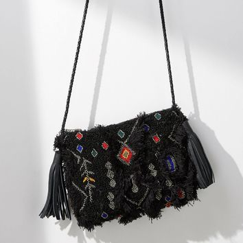 Embroidered Symbols Pouch
