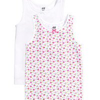 2-pack Tank Tops - from H&M