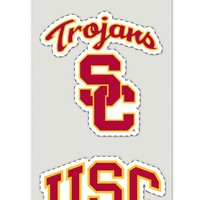 Wincraft Usc Trojans Set Of 2 Die Cut Decals