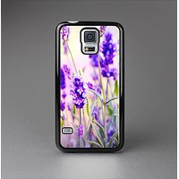 The Lavender Flower Bed Skin-Sert Case for the Samsung Galaxy S5